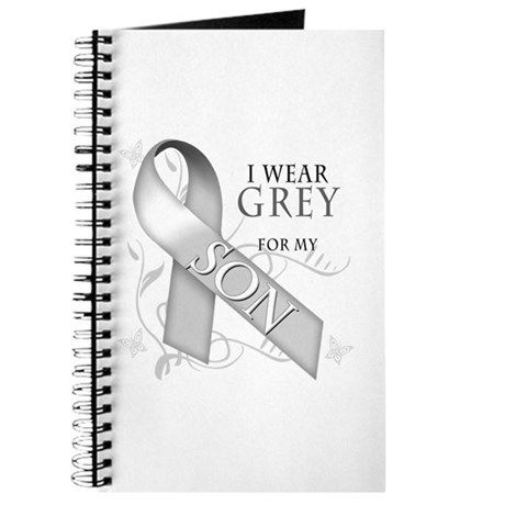 I Wear Grey for my Son Journal