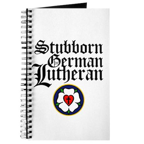 Stubborn German Lutheran Journal