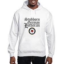 Stubborn German Lutheran Hoodie