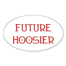 Future Hoosier Oval Decal