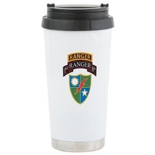 1st Ranger Bn with Ranger Tab Travel Mug