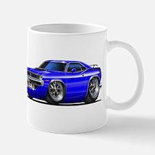 1970 Cuda Blue Car Mug