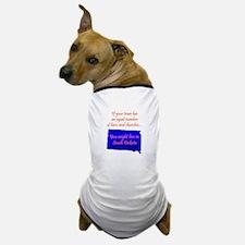 Bars N Churches Dog T-Shirt
