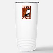 Nobel Peace Prize Obama Travel Mug