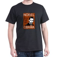 Nobel Peace Prize Obama T-Shirt