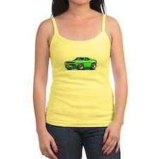 1970 Cuda Green Car Jr.Spaghetti Strap