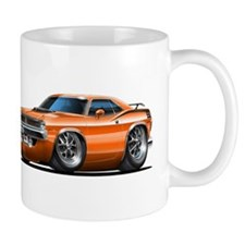1970 Cuda Orange Car Mug