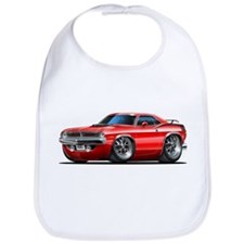 1970 Cuda Red Car Bib