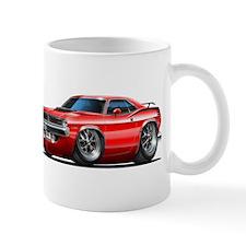 1970 Cuda Red Car Mug