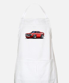 1970 Cuda Red Car BBQ Apron