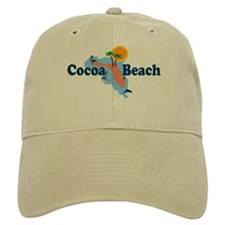 Cocoa Beach FL Baseball Cap