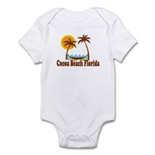 Cocoa Beach FL Infant Bodysuit