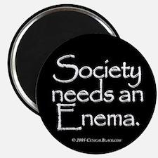 "Society 2.25"" Magnet (10 pack)"