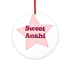 Sweet Anahi Ornament (Round)