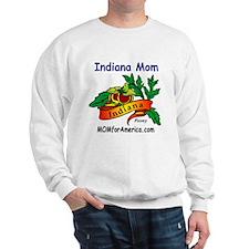 Cute Indiana mom Sweatshirt