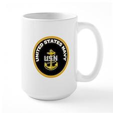 CPO Anchor Gold Circle Mug