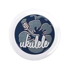 """Hawaiian Uke - 3.5"""" Button"""
