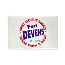 Fort Devens Rectangle Magnet