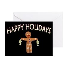 HAPPY HOLIDAYS GINGERBREAD MAN (Pk of 20)