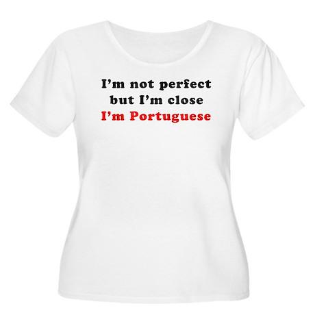 I'm Portuguese Women's Plus Size Scoop Neck T-Shir