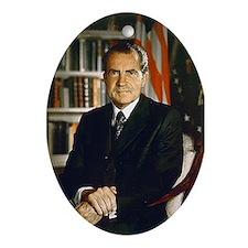Richard Nixon Christmas Ornament