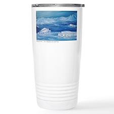 floating icebergs Travel Mug