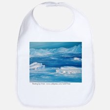 floating icebergs Bib