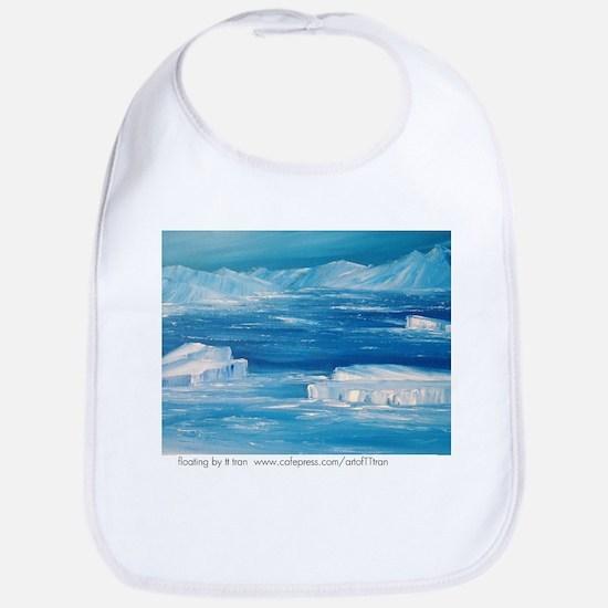 floating icebergs Bib