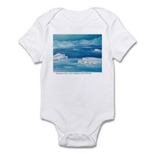 floating icebergs Infant Bodysuit