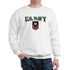 CPO USN Red Sweatshirt