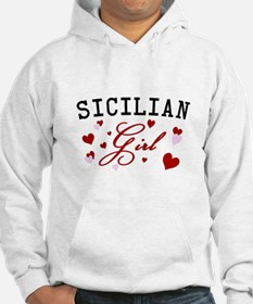 Sicilian Girl Hearts Jumper Hoody