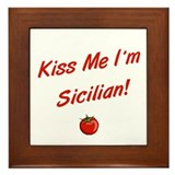 Sicilian pride Framed Tiles