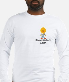 Endocrinology Chick Long Sleeve T-Shirt