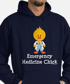 Emergency Medicine Chick Hoodie (dark)