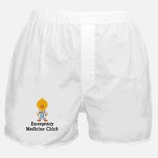 Emergency Medicine Chick Boxer Shorts