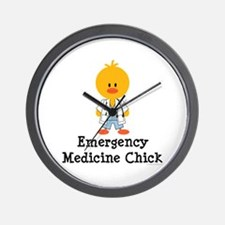 Emergency Medicine Chick Wall Clock