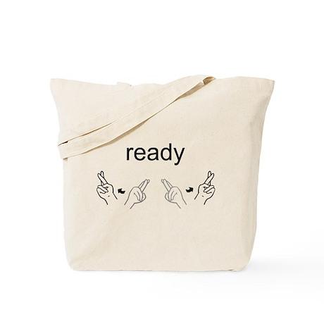 Sign Language Ready Tote Bag