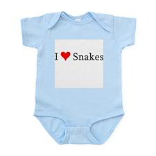 I Love Snakes Infant Creeper