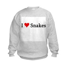 I Love Snakes Sweatshirt
