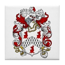Cordell Coat of Arms Tile Coaster