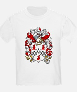 Cordell Coat of Arms Kids T-Shirt