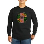 Year Of the Rooster Long Sleeve Dark T-Shirt