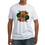 Year Of the Rooster Fitted T-Shirt