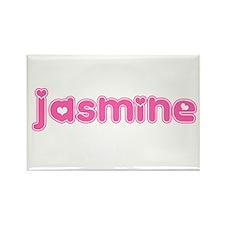"""Jasmine"" Rectangle Magnet"