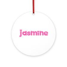 """Jasmine"" Ornament (Round)"