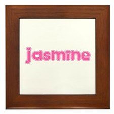 """Jasmine"" Framed Tile"
