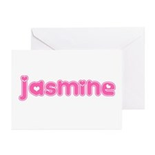 """Jasmine"" Greeting Cards (Pk of 10)"