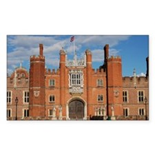 Hampton Court Palace Rectangle Sticker 10 pk)