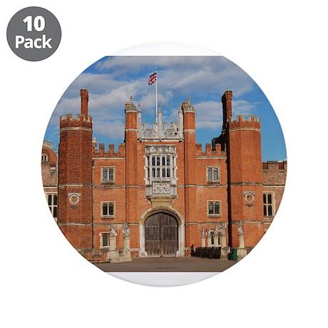 "Hampton Court Palace 3.5"" Button (10 pack)"