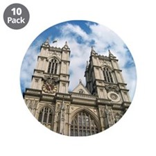 """Westminster Abbey 3.5"""" Button (10 pack)"""
